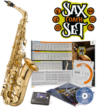 "Jupiter JAS700Q ""Sax Coach Set"""
