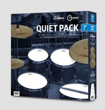 "Zildjian/ Aquarian Quiet Pack ""Tom"""