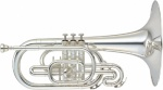 Concord Field Series Marching Mellophone versilbert